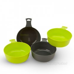 4 Piece Camping Bowls