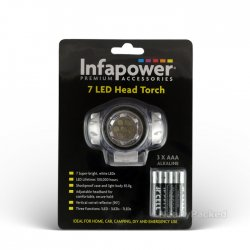 7 LED Head Torch