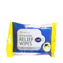 Bite and Sting Relief Wipes