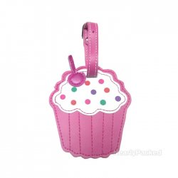 Kids Luggage Tag - Cupcake