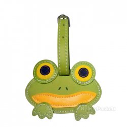 Kids Luggage Tag - Frog